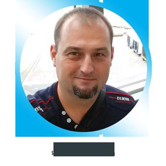 Szabó Gábor - a SINB kutyaház és kennel specialistája, ügyvezetője